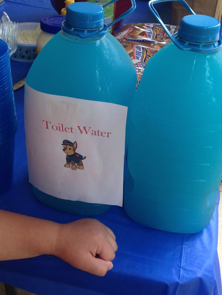 The Pups Favorite Drink From The Paw Patrol Party Peyton
