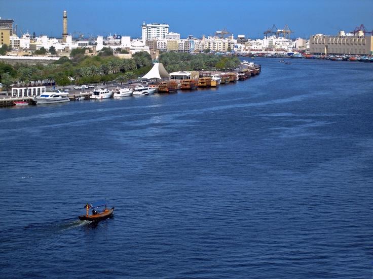 The waterway in Dubai