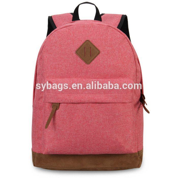 Hot Sale 600D Polyester Unisex Fashion Backpack Bag