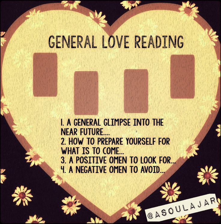 General Love Tarot Card Layout | Romance Reading | Heart Spread | Oracle Cards | Divination