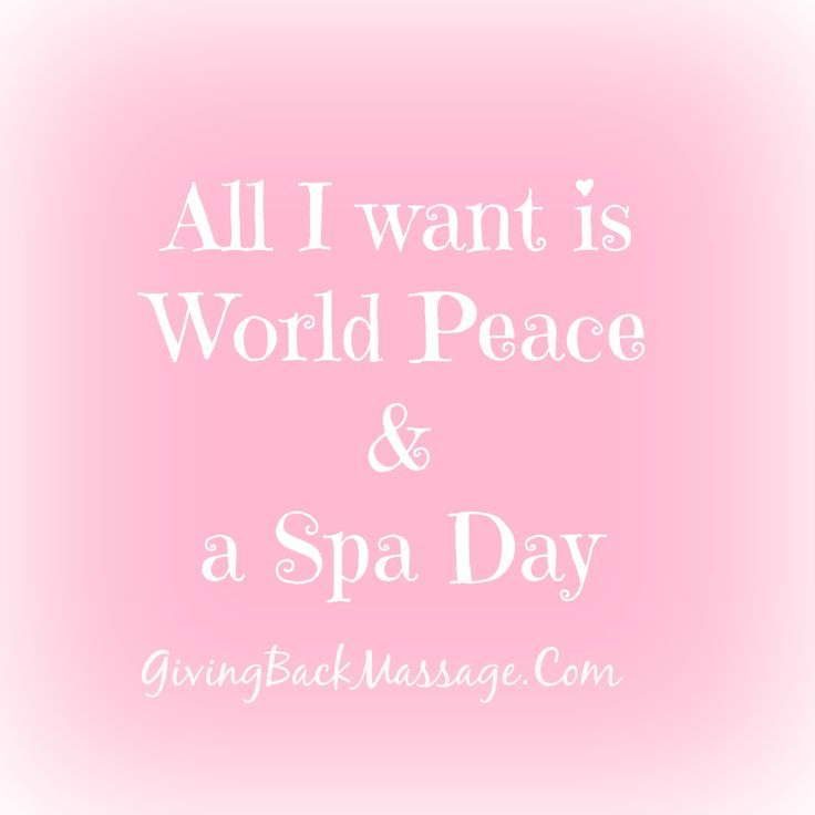 Find your peace with a spa day