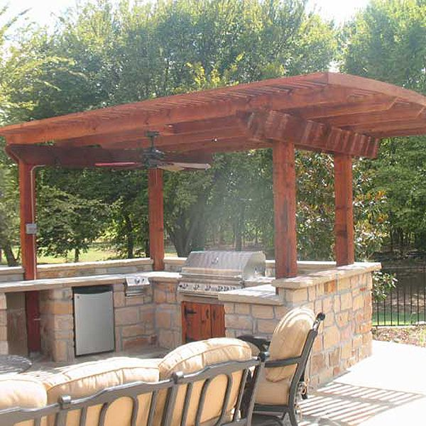 Tiki Bar/grill By The Pool Ideas