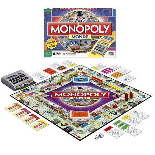 Monopoly Monde Here and Now: The World Edition (French Edition)