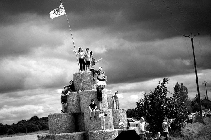 Черно-белые фото с велогонки Тур де Франс 2017 « FotoRelax