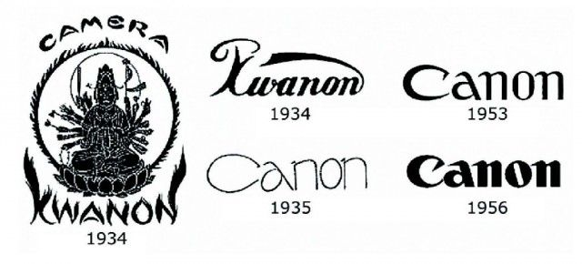 Canon was Originally Named After Kwanon, the Buddhist Goddess of Mercy