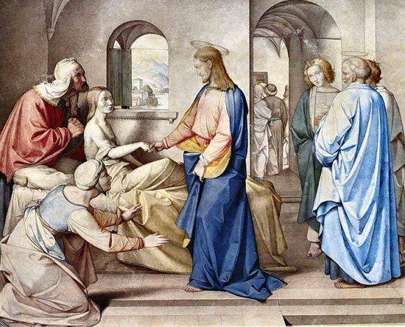 Le Christ ressuscitant la fille de Jaïre, par Friedrich Overbeck (1815). Homélie du Père Thomas Poussier dimanche 28 juin. Dans l'Evangile de ce jour nous avons deux miracles : la résurrection de la fille de Jaïre et la guérison de la femme malade. Le...