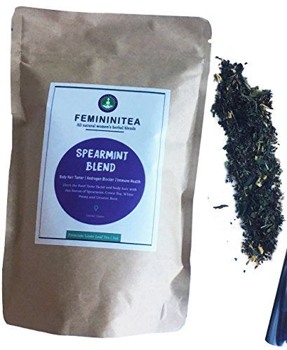 Excess androgen control to reduce excess hair growth, fight blemishes, balance hormones and promote clear skin. FEMININITEA SPEARMINT HAIR CONTROL BLEND by LADIESBALANCE... https://www.amazon.com/dp/B01MAWCC6Y/ref=cm_sw_r_pi_dp_x_2ivjybXGF67XM