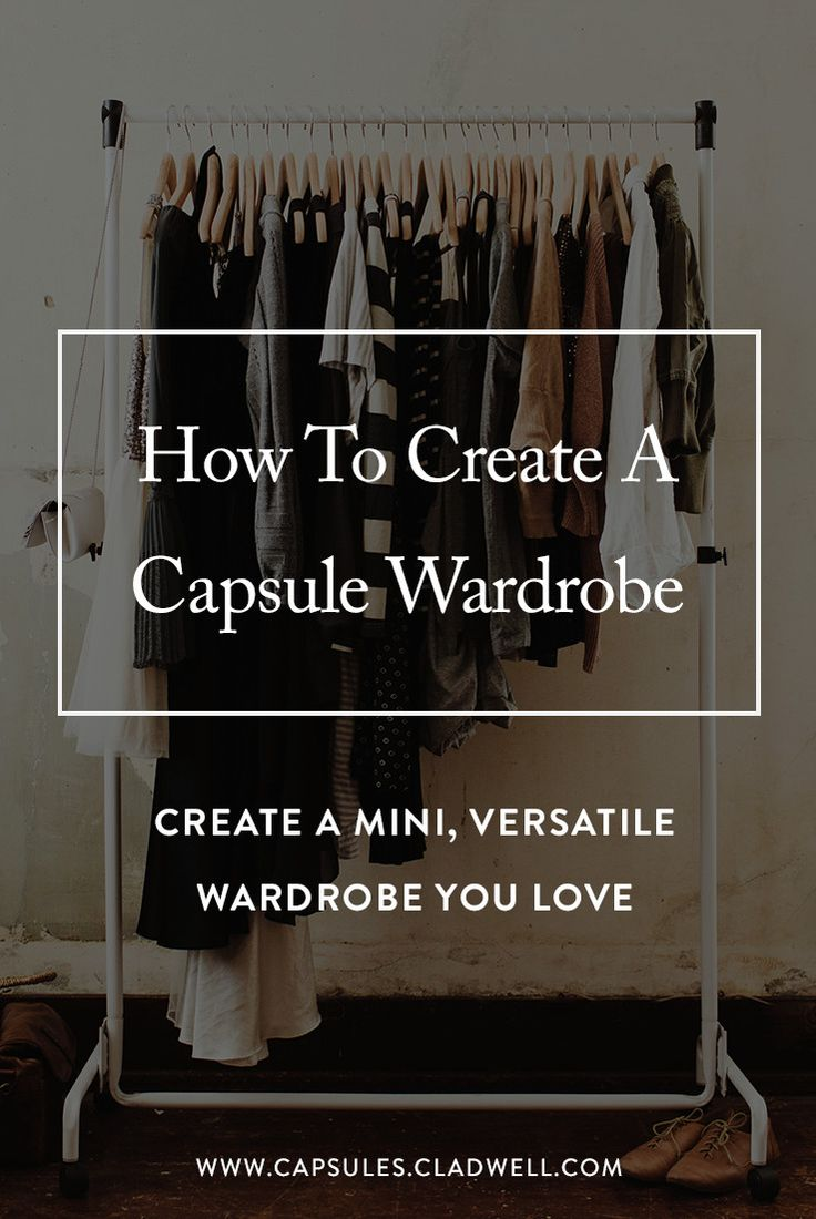 Capsules walks you through a step-by-step process to create a mini, versatile capsule wardrobe.