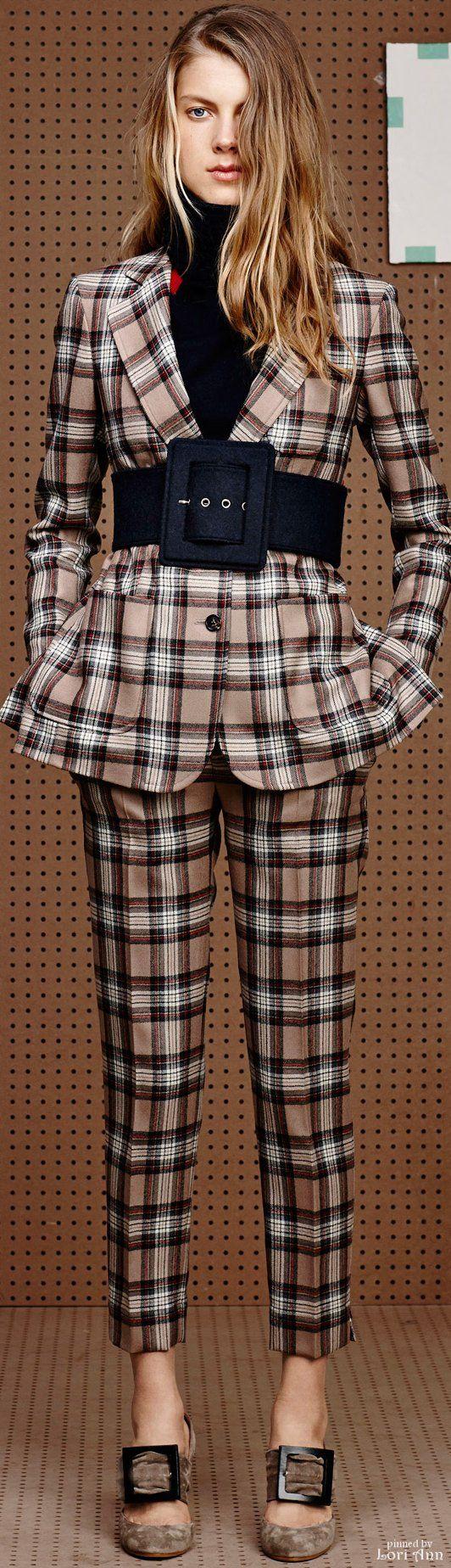 ℳiss Tallulah Tatum wears her nova check, plaids and classic tartan  Poppy Pea  Band of Outsiders