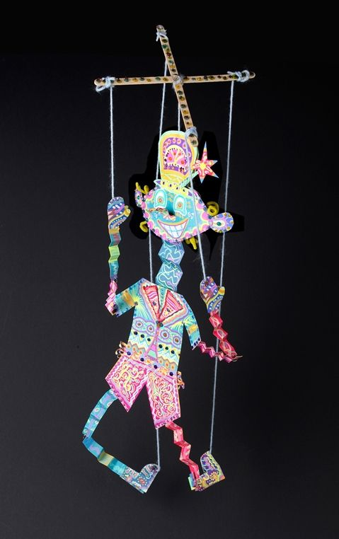 Dancing Marionette lesson plan