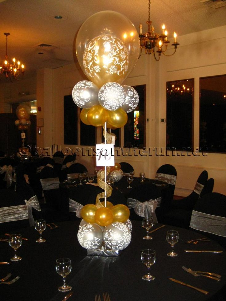 17 best images about anniversary balloon decor on for Decor 17