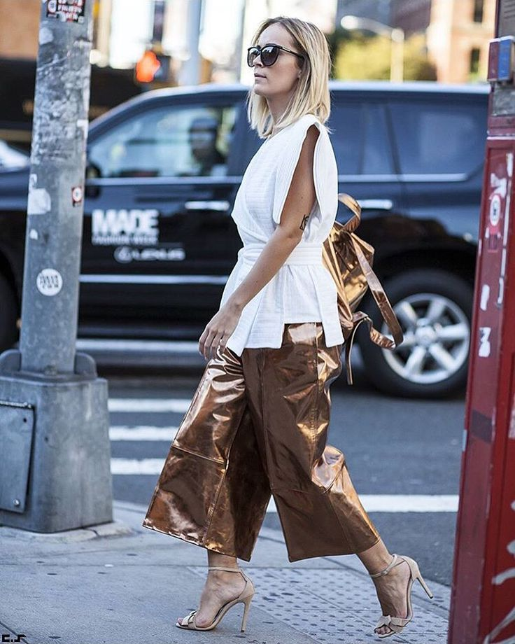 Copper pants in NY #crinabulprich