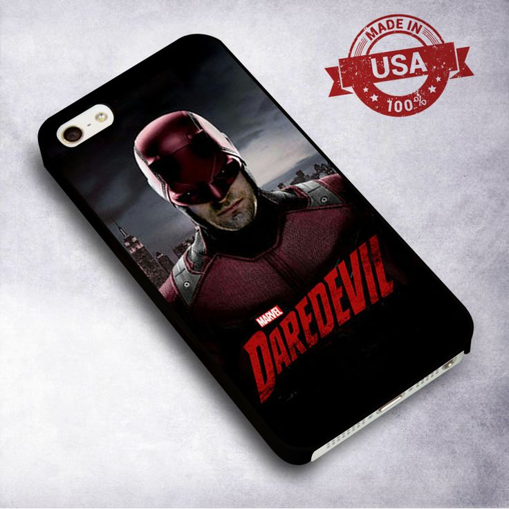 Awesome Daredevil TV Series - For iPhone 4/ 4S/ 5/ 5S/ 5SE/ 5C/ 6/ 6S/ 6 PLUS/ 6S PLUS/ 7/ 7 PLUS Case And Samsung Galaxy Case