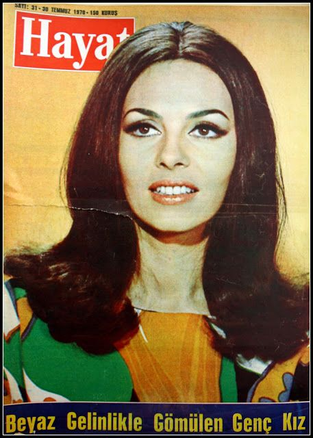 OĞUZ TOPOĞLU : michele mercier 30 temmuz 1970 hayat dergisi kapağ...