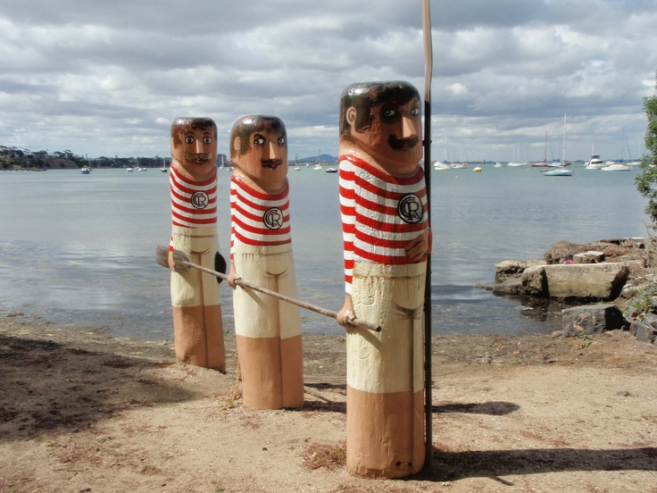 Waterfront bollards Geelong Victoria
