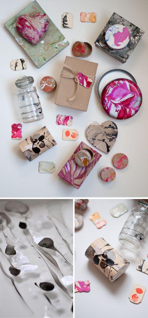 DIY: maak je eigen marmeren look met nagellak - Roomed | roomed.nl