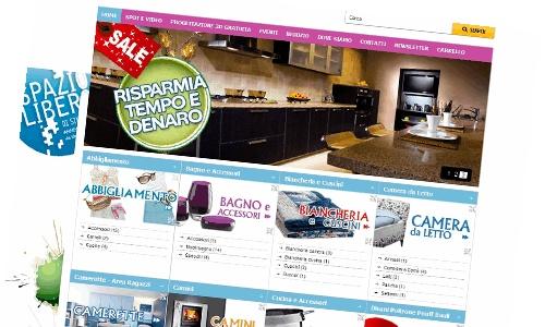 E commerce per negozio di arredamento realizzazione e for E commerce arredamento