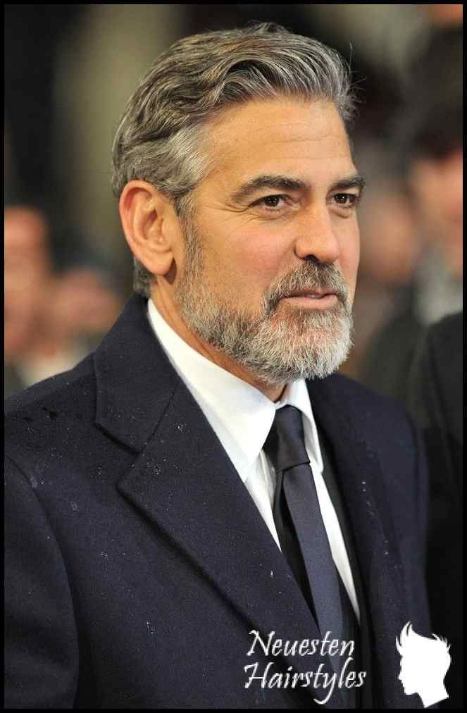 George Clooney Google Search Beard In 2018 Pinterest George Neuesten Hairstyles Promi Frisuren Frisuren Glatze Und Bart