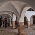 La Casa de los Estudios, antiguo colegio Mayor, fundado alrededor de 1600 en Villanueva de los Infantes, C.R. Por aqui charlarón Lope de Vega y Francisco de Quevedo grandes amigos del catedratico en el tiempo Bartolome Jimenez Paton