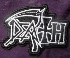 DEATH BAND HEAVY METAL EMBROIDERED PATCH BIKER PUNK DIY