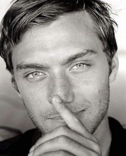 Jude Law - you're right I should hush I will never talk again *drool*