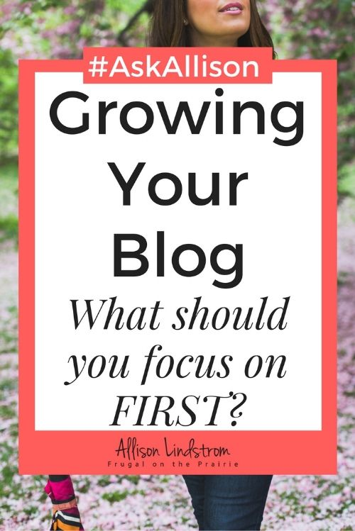 Starting a blog and want to know what you should be working on first? Increasing traffic, making money, and building an email list are all great ideas but I want you to start in an even better place.