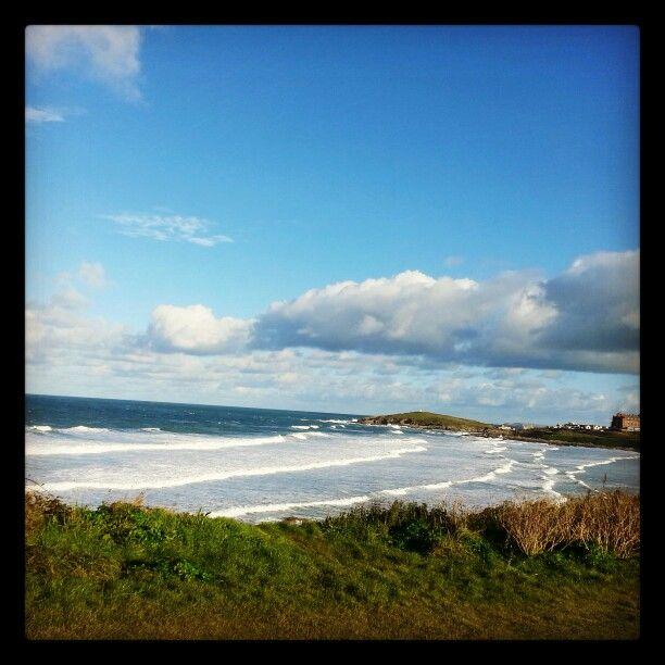 #november#sunny#fistral#beach