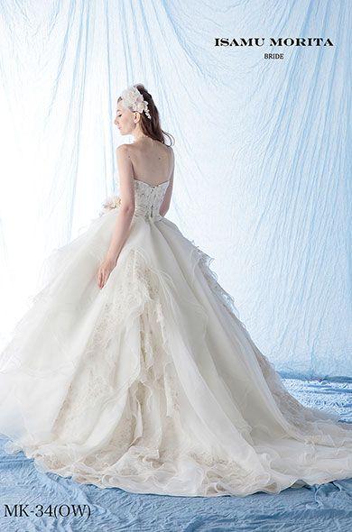ISAMU MORITA Bride#Wedding Dress#ウェディングドレス