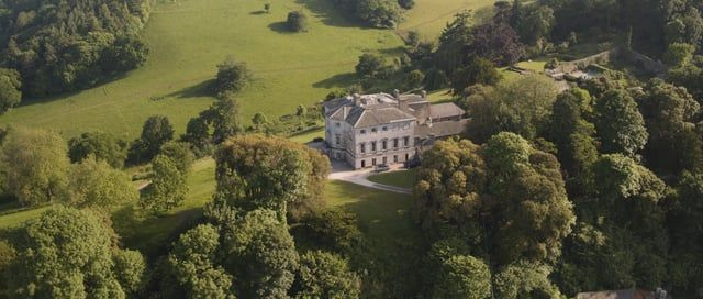 """""""The Sharpham Estate is set in a majestic location high above the River Dart. The house and gardens exude a sense of peace and tranquillity with exquisite views in a designated Area of Outstanding Natural Beauty."""" http://www.sharphamtrust.org    Filmed on 31st May 2017 with a DJI Inspire 2 and X5s camera by Danny Cooke www.dannycooke.co.uk"""