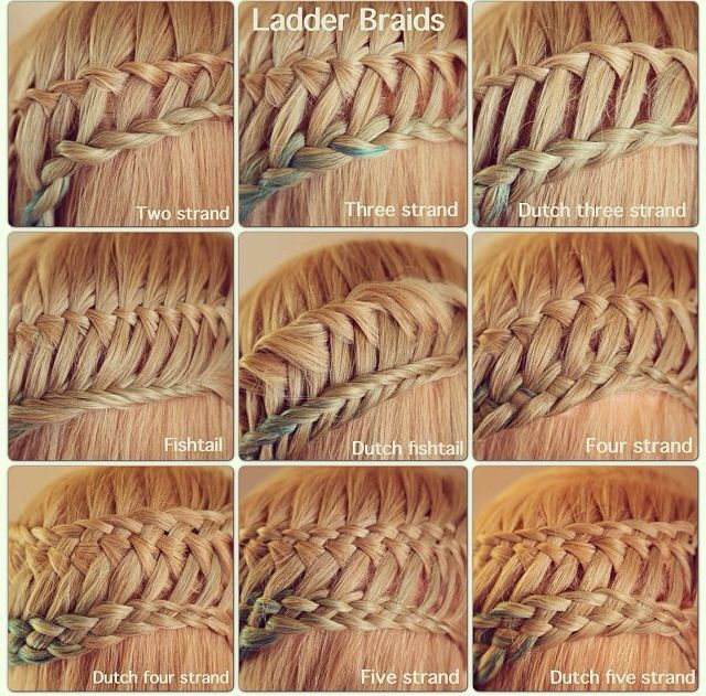 step how to do ladder braiding hairstylegalleriescom