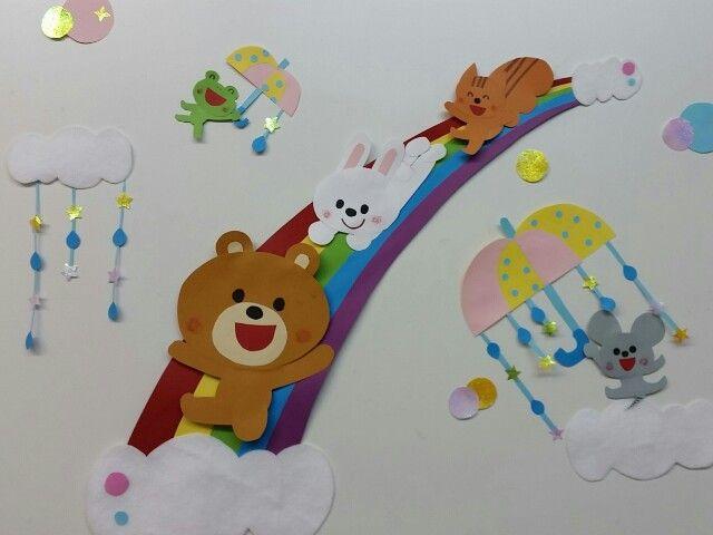 15 5 13 6月の壁面飾り 記事の画像 飾り 幼児 手作り おもちゃ 手作りおもちゃ