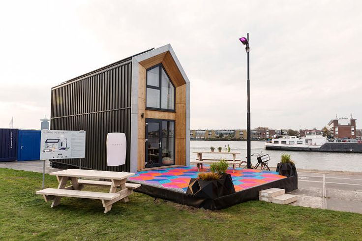 <p>The Heijmans One house is 3.5 meters wide by 8.5 meters long.</p>