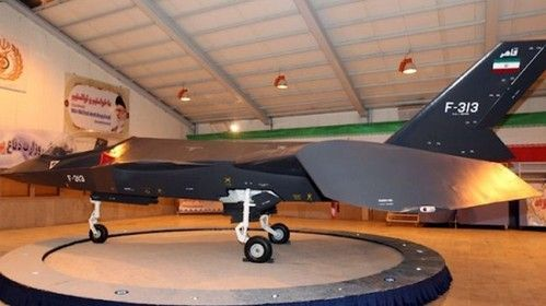 Iran Unveils A Stealthy Multi-Role Strike Aircraft (+VIDEO) Futuristic Aircraft, Qaher-313, fighter jet