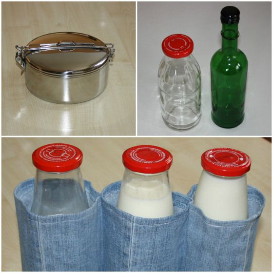 Klapperschutz für Glasflaschen