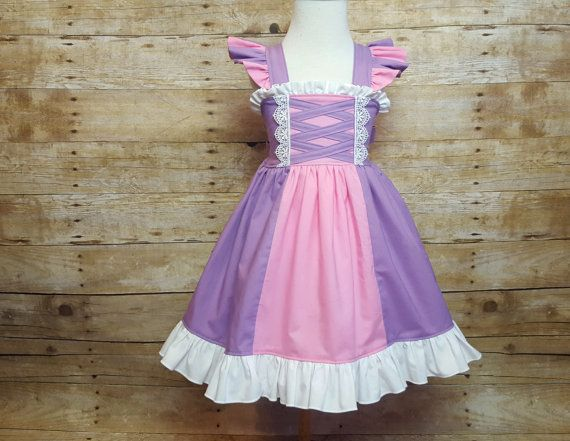 Rapunzel Inspired Girls Toddler Disney by AMDesignsBoutique