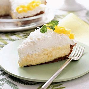 Pineapple-Coconut Cream Pie