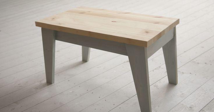 Gjør det selv: Slik lager du bord, krakk eller benk
