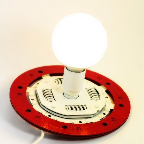 Car clutch disk interior decorative lamp   tablo.ro