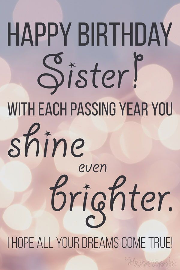 Brilliant 150 Happy Birthday Wishes For Sister Find The Perfect Quote Or Personalised Birthday Cards Veneteletsinfo