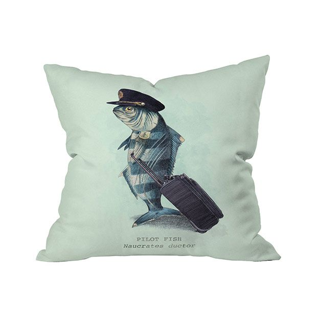 Ladies and gentlemen, this is your captain swimming … or walking. The Fly Fishing Outdoor Throw Pillow brings comedic relief in a fun, artistic motif. You'll adore its charming depiction of a parodied ...  Find the Fly Fishing Outdoor Throw Pillow, as seen in the Outdoor Pillow Sale Collection at http://dotandbo.com/collections/outdoor-pillow-sale?utm_source=pinterest&utm_medium=organic&db_sku=105614