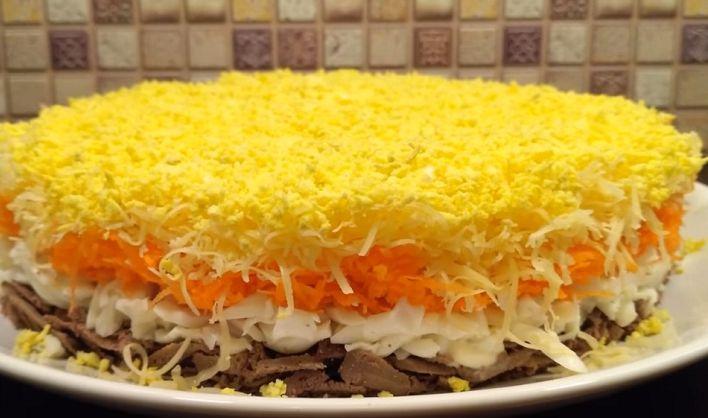 Невероятно вкусный салат «Совершенство» | NashaKuhnia.Ru