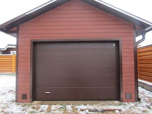 ГАРАЖ 3,6 Х 7,1 М. САЙДИНГ ДПК За основу был взят классический проект гаража на одну машину. Однако, внешняя отделка выполнена сайдингом из древесно-полимерного композита.   http://www.metgar.ru/projects/proekty-garazhey/garazh-3-6-kh-7-1-m-sayding-dpk/