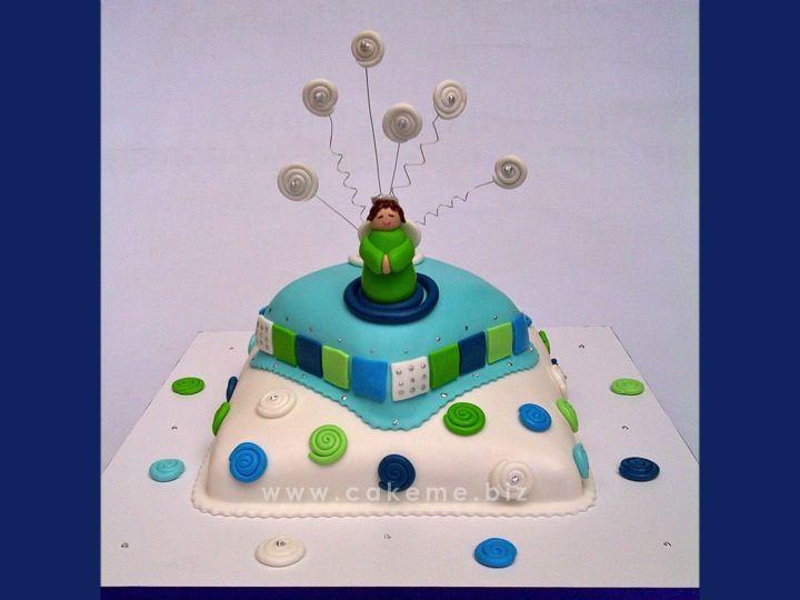 Hostias modernas II, ponqué inspirado en uno anterior diseñado por Cake me.
