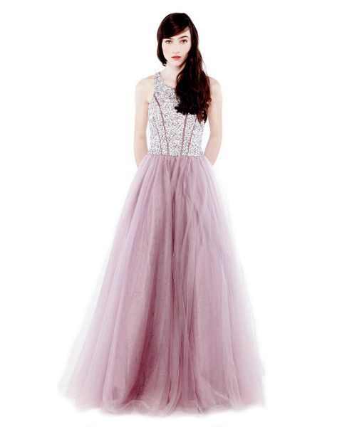 Dress - Eileen Kirby - Miss You Long - Pink - Princess - Formal Dress - Graduation Dress - Evening Dress - Bridesmaid Dress - Australian Fashion - Australian Designer  $639.90