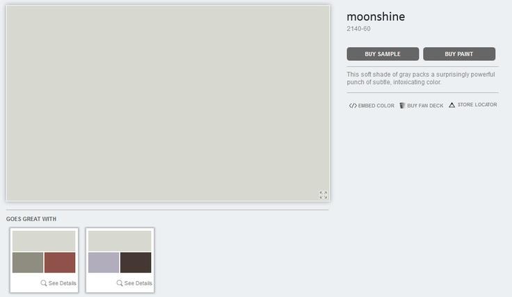 Benjamin Moore: Moonshine
