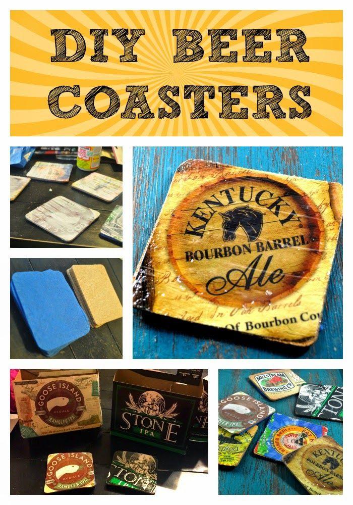crafty ideas modern coasters. Project  DIY Beer Coasters 130 best Ideas Crafts Projects images on Pinterest