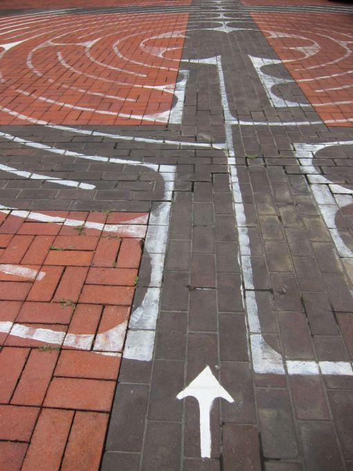 Labyrinth: St George's Cathedral.  Perth, Western Australia.