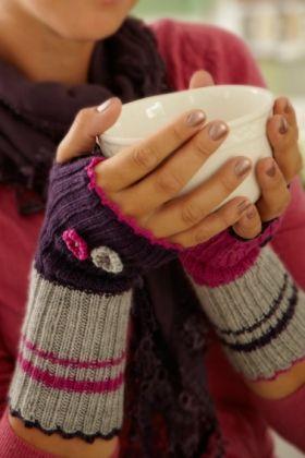 Strikke-opskrift | Strik flotte pulsvanter fra Familie Journal | Lunt tilbehør til kolde dage