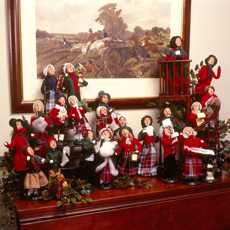 Christmas Caroler Yard Stakes: 62 Best Decorating With Byers' Choice Carolers! Images On