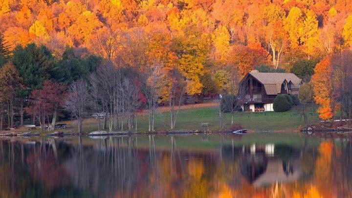 Lake Waramaug, Connecticut